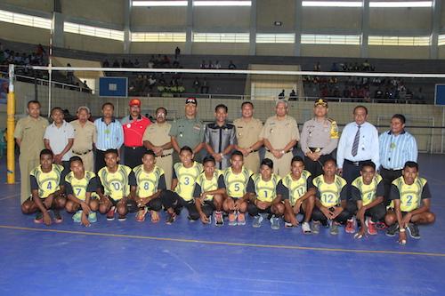 Pembukaan Turnamen Bola Voli Putra Putri Bupati Cup I Berita Umum
